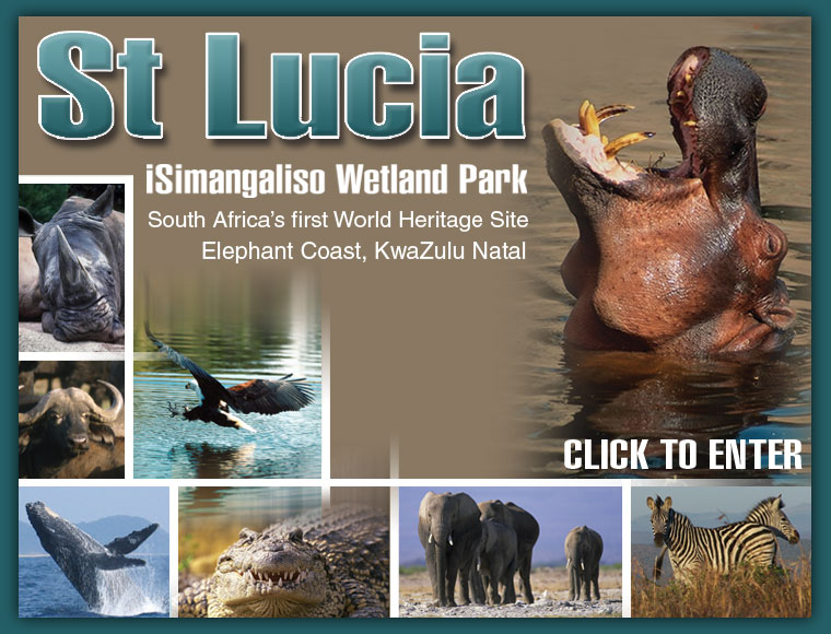St Lucia - iSimangaliso Wetland Park - click to enter